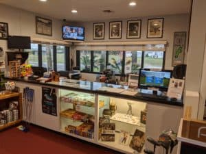 Deer Creek Pro Shop Counter
