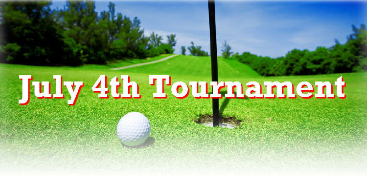 4th July Golf Tournament